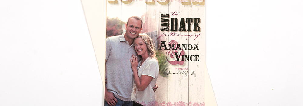 Country Chic Save The Dates : Maestri