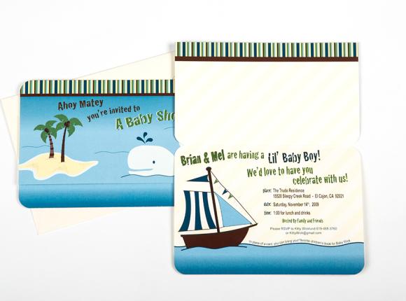 Ahoy Matey Baby Shower Invite : Wicklund